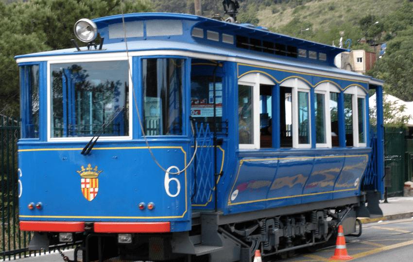 Straßenbahn Tram Barcelona hitorisch