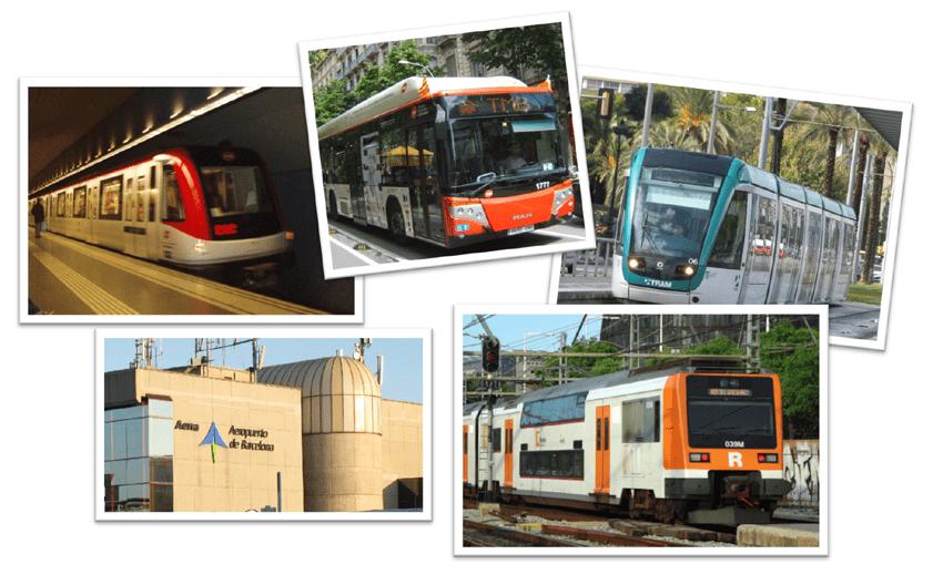 Hola Barcelona Travel Card Metro Bus Tram Flughafen